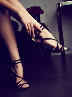 Step into something a little more daring this evening.