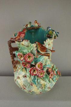 Glazes For Pottery, Ceramic Pottery, Ceramic Art, Antique Pottery, Vintage Ceramic, Vases, Porcelain Vase, Fine Porcelain, China Patterns