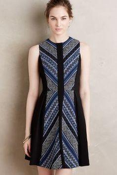 Maeve Pyramid Flare Dress | pinned by KimbaLikes.com