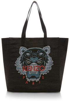 Kenzo Tiger Tote Anthracite