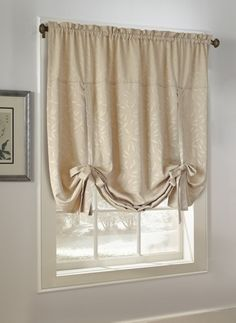 Curtain U0026 Bath Outlet   Whitfield Jacquard Tie Up Curtain Shade$17