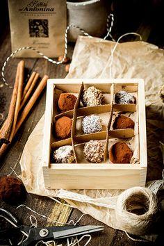 Čokoládové lanýže se skořicí   Koření od Antonína Korn, Tray, Cheese, Chocolate, Cooking, Breakfast, Cake, Advent, Sweets