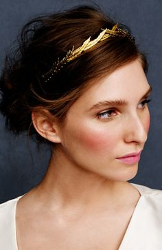Branch crown #hair