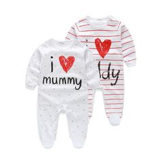 Brand Name: NoneDepartment Name: BabyItem Type: Footies Baby Outfits Newborn, Baby Boy Newborn, Baby Boy Outfits, Baby Boys, Dad Baby, Baby Boy Romper, Baby Rompers, Boy And Girl Cartoon, Bebe Baby