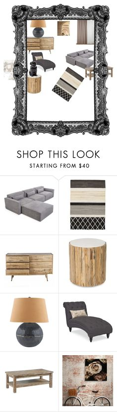 """Wood's a great thing"" by gena-june on Polyvore featuring interior, interiors, interior design, home, home decor, interior decorating, Gus* Modern, Lazy Susan and Quail"