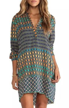 Casual Summer Dress With Sleeves