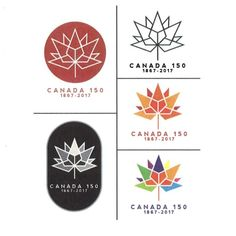 Ariana Cuvin, who created the winning design, said the four diamonds at the centre show celebration, and the colours show diversity. Stuart Ash, designer of the 1967 Centennial logo, offers his critique: 'It has adopted the same content and idea as the Centennial symbol. However, with the Centennial symbol, at that time, there were only 10 provinces and the Northwest Territories, therefore 11 equilateral triangles forming a bold Maple Leaf. This design contains 13 triangular elements…
