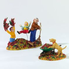 """Department 56: Products - """"Harvest Yard Fun"""" - View Accessories"""