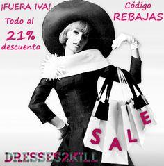 Dresses2Kill - Handmade Clothing: REBAJAS | SALES