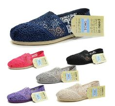 Toms Crochet Classics Women's Shoes Be prepared to wait a while for these shoes. You'll get a great deal, but it can take months to get these shoes in from China.