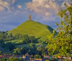 The Isle of Glastonbury is the legendary Avalon. It is also the place where Joseph of Arimathea is reputed to have hidden the Cup of Christ after the crucifixion. This cup was to become the famous Holy Grail which Arthur's Knights pursued. Glastonbury Town, Glastonbury England, Glastonbury Somerset, Joseph Of Arimathea, Somerset England, Kingdom Of Great Britain, Lake District, British Isles, Day Tours