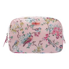 Blossom Birds Classic Box Cosmetic Bag