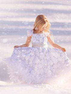 Pure Heaven Exquisite White sequin Flower by MelissaJaneBoutique