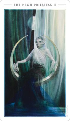 The High Priestess | The Fountain Tarot                                                                                                                                                                                 More