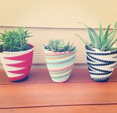 Phone wire pots