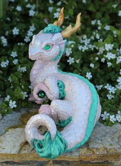 Spirited Away Haku themed Chinese dragon by The-SixthLeafClover.deviantart.com