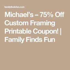 cadres designs modernes et encadrements essentiels modern day designs framing essentials custom framing coupons pinterest coupons - Michaels Framing Coupon
