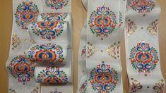 mašle :: Malované mašle Napkin Rings, Home Decor, Homemade Home Decor, Decoration Home, Napkin Holders, Interior Decorating