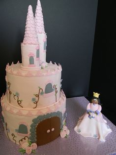 Princess Castle Cake - By The Mad Platters