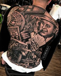 Chicano Tattoos Gangsters, Lettrage Chicano, Chicano Tattoos Sleeve, Chicano Style Tattoo, Oldschool Tattoos, Gangster Tattoos, Best Sleeve Tattoos, Badass Tattoos, Tattoo Sleeve Designs