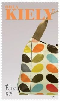 Orla Kiely Stamp for Republic of Ireland 2010  I must have this!!!!!
