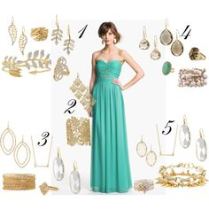 My Stella & Dot Stylist sister Caroline is helping me style my bridesmaid dress for my brother's wedding! What jewelry combo do you all like best?! HELP! :) @Caroline Hoyt