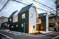 starpilots wraps japanese housecut in dark green shingles