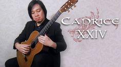 Paul Adrian plays Caprice XXIV by NICCOLO PAGANINI Play S, Guitar, Videos, Music, Musica, Musik, Muziek, Music Activities, Guitars