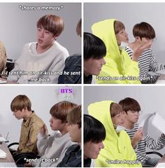 I love how many NamJin moments there are that need literally no commentary at all to show how NamJin they are Bts Jin, Bts Bangtan Boy, Jhope, Taehyung, Namjin, K Pop, Bts Memes Hilarious, Funny, Bts Facts