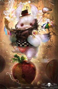 Awesome Fantasy character illustrations by PO WEN Adventures In Wonderland, Alice In Wonderland, Character Illustration, Digital Illustration, Digital Art Gallery, Cg Art, Fantasy Artwork, Dreamworks, Character Art