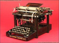 Máquina de Escribir Remington Modelo 6. 1984.