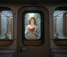 Artist Inserts People From Classic Paintings Into the Modern World