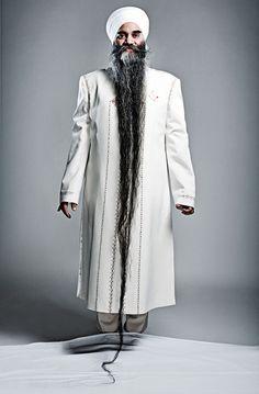 Bhai Sarwan Singh -Longest Beard, 2011