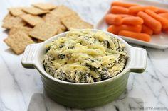 Low-Fat Spinach Artichoke Dip