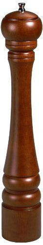 Gessner Products Mr. Dudley 16-Inch Hardwood Peppermill, Walnut Finish by Gessner Products. $32.44. Lifetime warranty on the grinding mechanism.. Mr. dudley brand trusted for over 50 years.. Superior walnut 16-inch peppermill.. Rich brown finish.. High quality adjustable grinding mechanism.. The Mr. Dudley brand of casual and elegant peppermills, salt grinders and salt shakers has been trusted by restauranteurs and consumers alike for over 50 years.  Freshly ground pepper e...