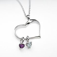 Can add your kid's birthstone's...I was looking for grandma gifts and got sidetracked with what I would like! Lol :-)
