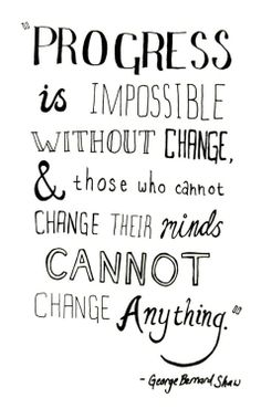 Quote about Changes
