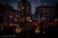 Christmas Lights and shadows