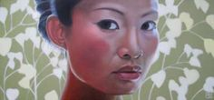 SELF PORTRAIT, Poh Ling Yeow a Malaysian-born Australian artist, actress and runner-up in MasterChef Australia. Masterchef Australia, Modern Artists, Designer Toys, Australian Artists, Klimt, Artist At Work, Love Art, Altered Art, Artworks