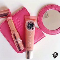 Muah! Loving #posiebalm & ultra plush gloss in #dandelion #benefitbeauty