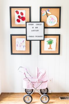 A dated, unorganized playroom gets a bright and whimsical makeover with organizational strategies, ideas for adding function, and DIY-able projects to create the perfect kid's space on a budget. Playroom Flooring, Playroom Wall Decor, Playroom Organization, Teen Room Decor, Kids Decor, Playroom Ideas, Decor Ideas, Playroom Table, Playroom Furniture