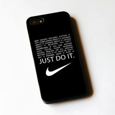 Nike quote making excuses Case for iPhone 5 5s SE 5c iPhone 6 6plus iPod 5 Cover…