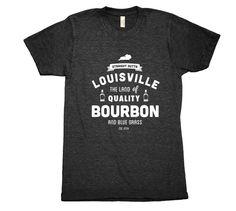 BOURBON & BLUEGRASS  Straight outta Louisville, the land of quality Bourbon and Bluegrass.  #Louisville #Kentucky #Bourbon