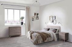 Dormitorio de estilo nórdico. http://www.aristamobiliario.es/15-muebles-dormitorio