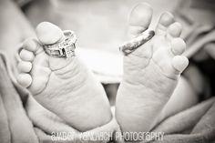 baby toes, wedding rings - Jackson, MI Area Photography