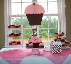 This would be a precious baby shower OR birthday party for a little girl