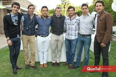 Iago Curiel, José Maza, Alejandro Cortés, Keko Mendizábal, Ramiro Rodríguez, Alejandro Fernández y Pedro Coronado.