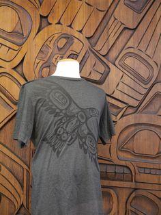 """The MOA Shop: """"Soaring Eagle T-Shirt"""" designed by Haida artist Corey Bulpitt."""