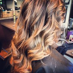 ombre brown to blonde  | Ombré brown to blonde | Hair Inspiration