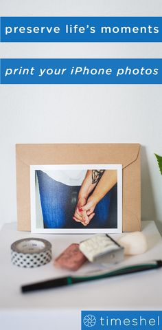 The perfect way to hold on to memories - print your iPhone photos and get them delivered to your door each month. Senior Photography, Photography Photos, Photo Journal, Got Print, Couple Pictures, Life Hacks, Hold On, Scrap, Romance